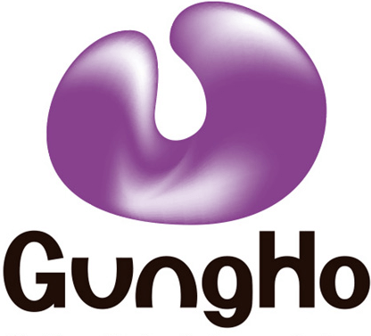ガンホー株価ロゴ