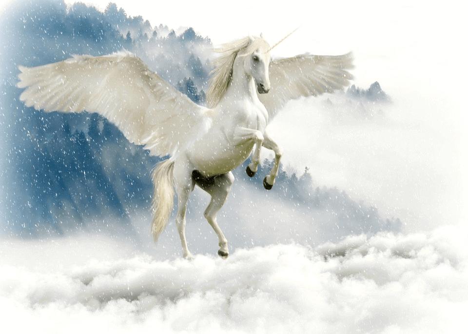 Unicornは一本角が生えた伝説の生き物だ