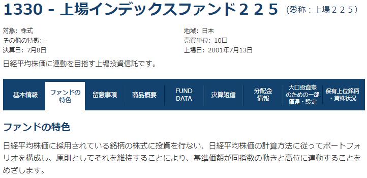 ETF日経225