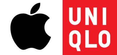 アップルユニクロロゴ