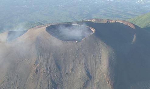 浅間山噴火